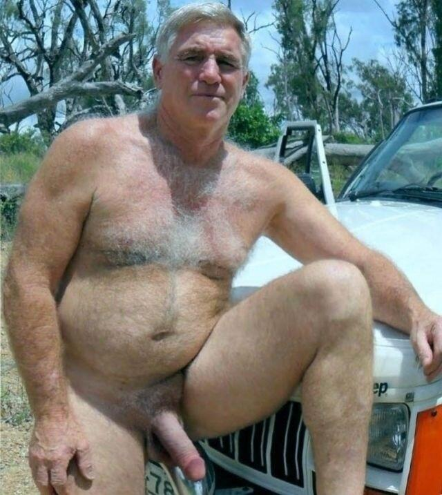 Gay Hairy Men and Muscle Bears - BUTCH DIXON - Big Hung Men