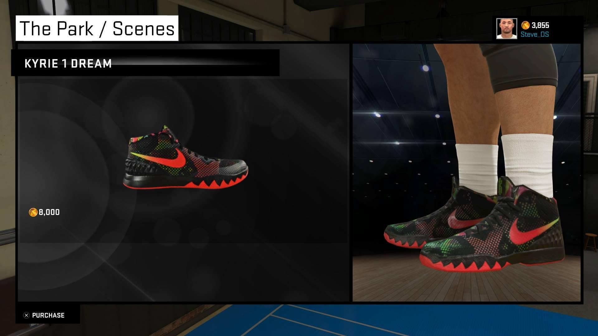 new style 3a29e d240b ... where to buy steve noah on twitter nba 2k15 shoe creator nike kyrie 1  47d8f f80ab