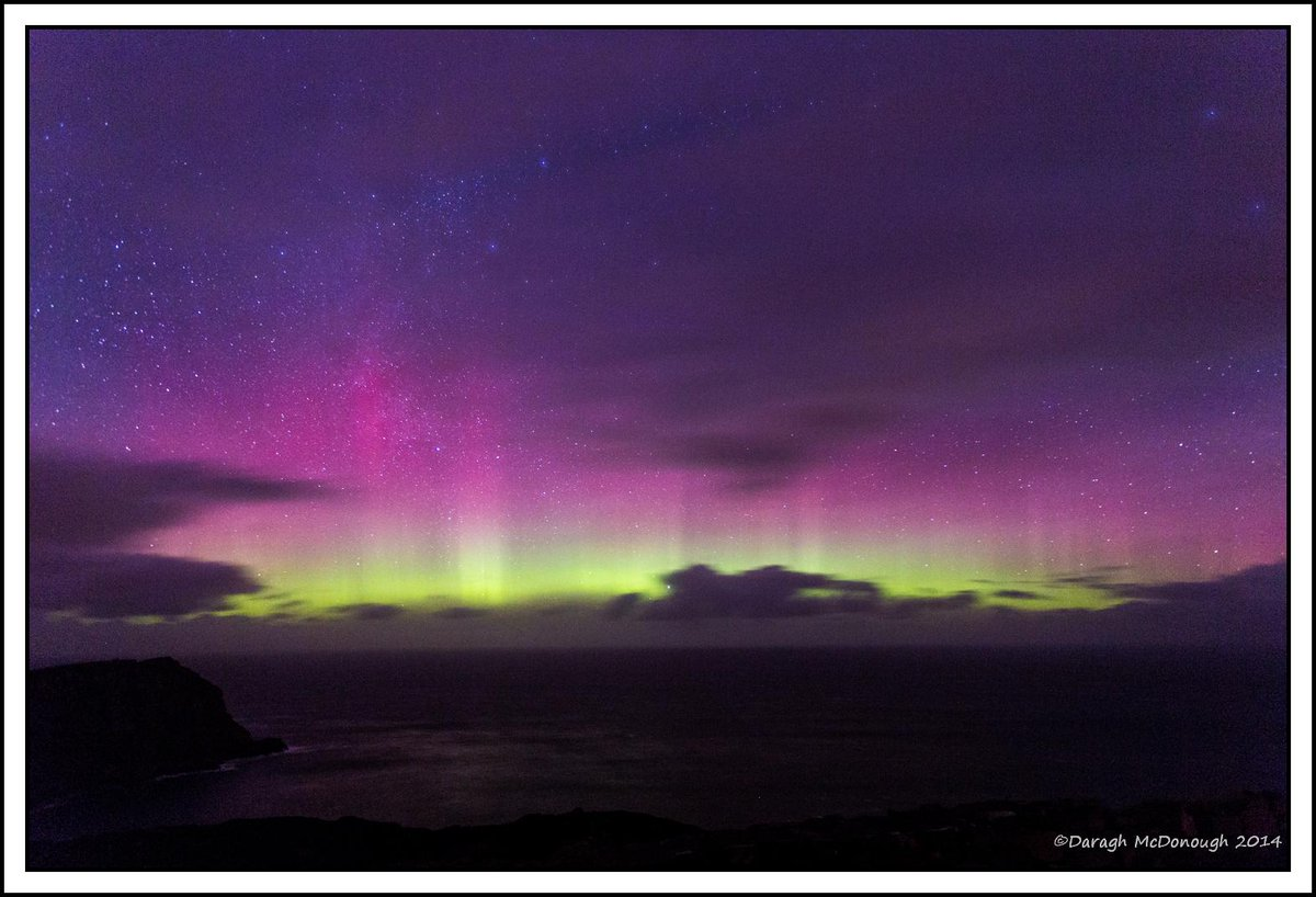 """@DaraghDonegal: ChristmasEve #aurora  Horn Head  #donegal @Aurora_ireland @aurorawatchuk  http://t.co/wfu0wCCFWS"" absolutely fabulous!"