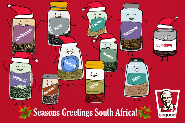 Kfc south africa on twitter what better way to say seasons 300 am 24 dec 2014 m4hsunfo