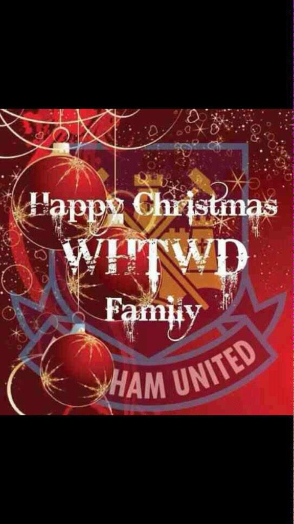 Merry Christmas Happy Hammers
