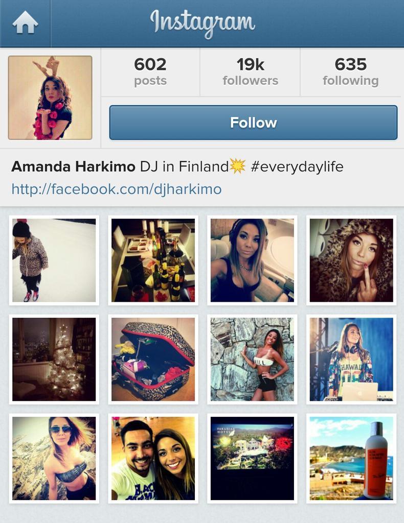 """Amanda Harkimo amanda harkimo on twitter: """"instagram 19k, amandariini"""