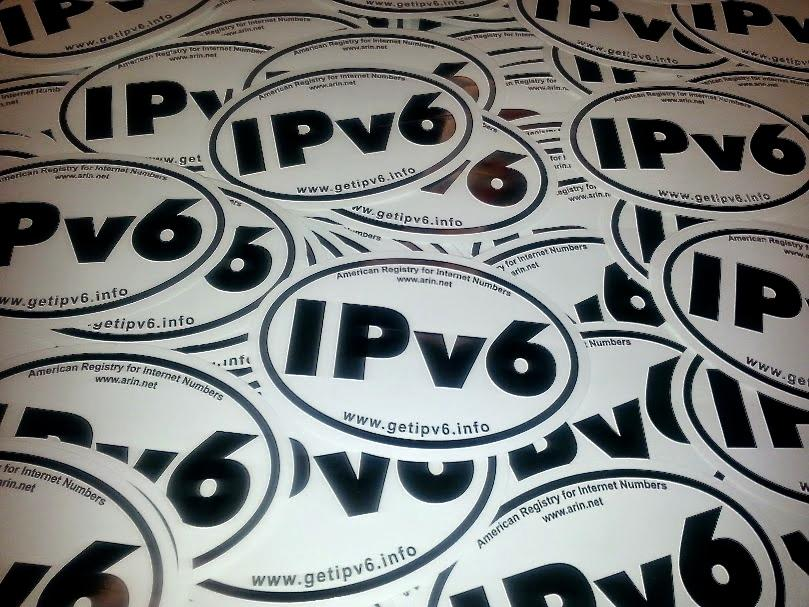 We've handed out 3,968 #IPv6 stickers just this year alone. Did you get one? http://t.co/BV2H0g2B4K