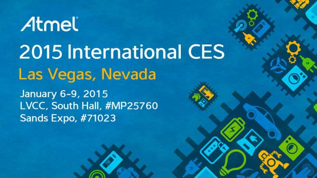Partner @Atmel Launches Solutions for Smart, Secure and Connected Living at #CES2015 http://t.co/rg0k6g9mDK http://t.co/t5ctsgLmU9