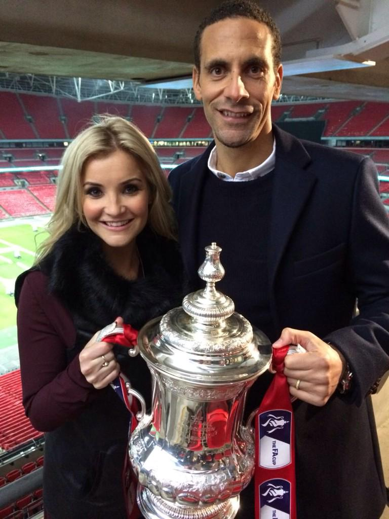 Enjoyed filming for @bbcsport this week with @HelenSkelton for #bbcfacup show. Watch at 9pm on NYE on @bbcthree http://t.co/LloW7TYBqQ