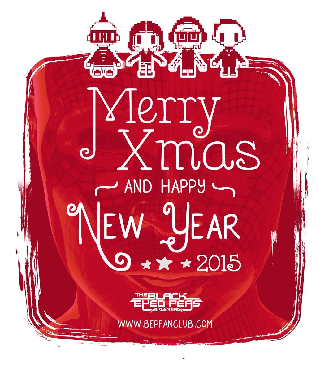 Merry Xmas n Happea New Year for all @thepeabodies and of course @BEP - @iamwill @apldeap @Fergie @TabBep http://t.co/DLTsg8pPwK