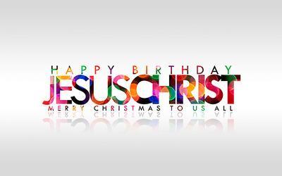 *  Happy         Birthday,                    Jesus  Merry       Christmas,                   World http://t.co/Sy3AfJCz6W