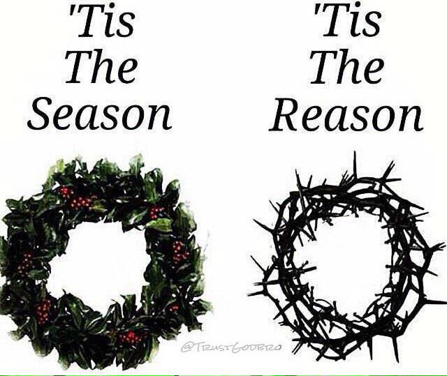 """""""@EarlDibblesJr: Never forget what the real reason for the season is. pic.twitter.com/HNEYDoOwv2"""""""