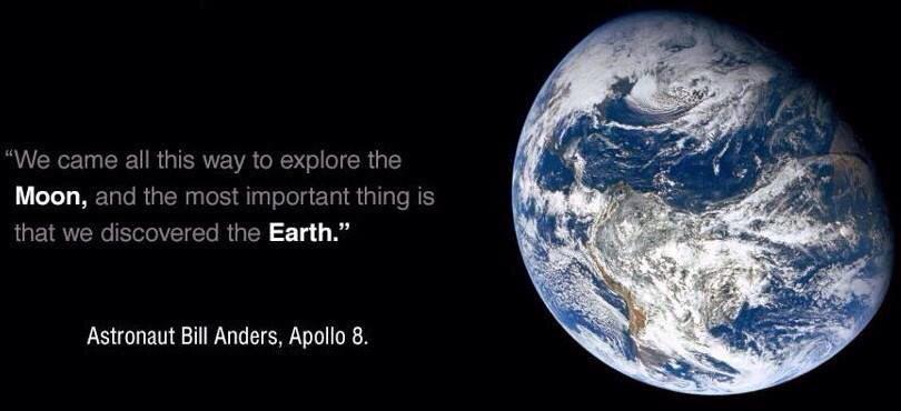 Off the Earth, For the Earth #NASA  #Apollo8 http://t.co/tVxsWuTPfH