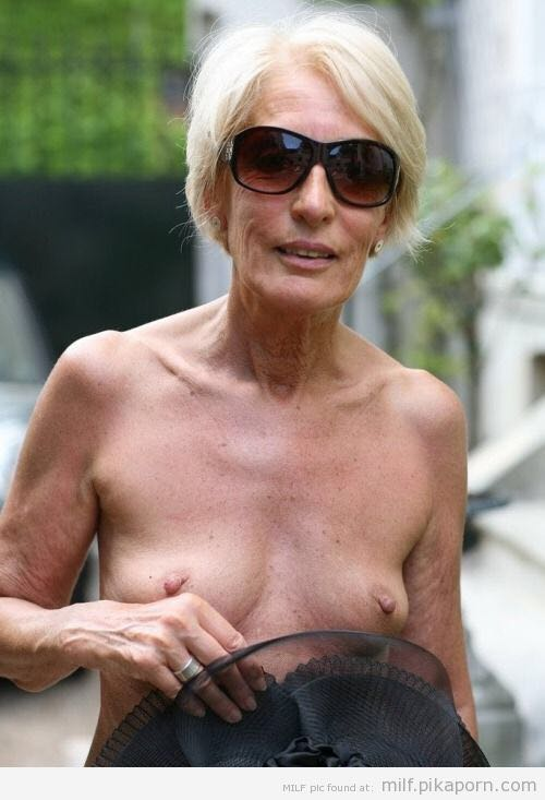 Busty elderly