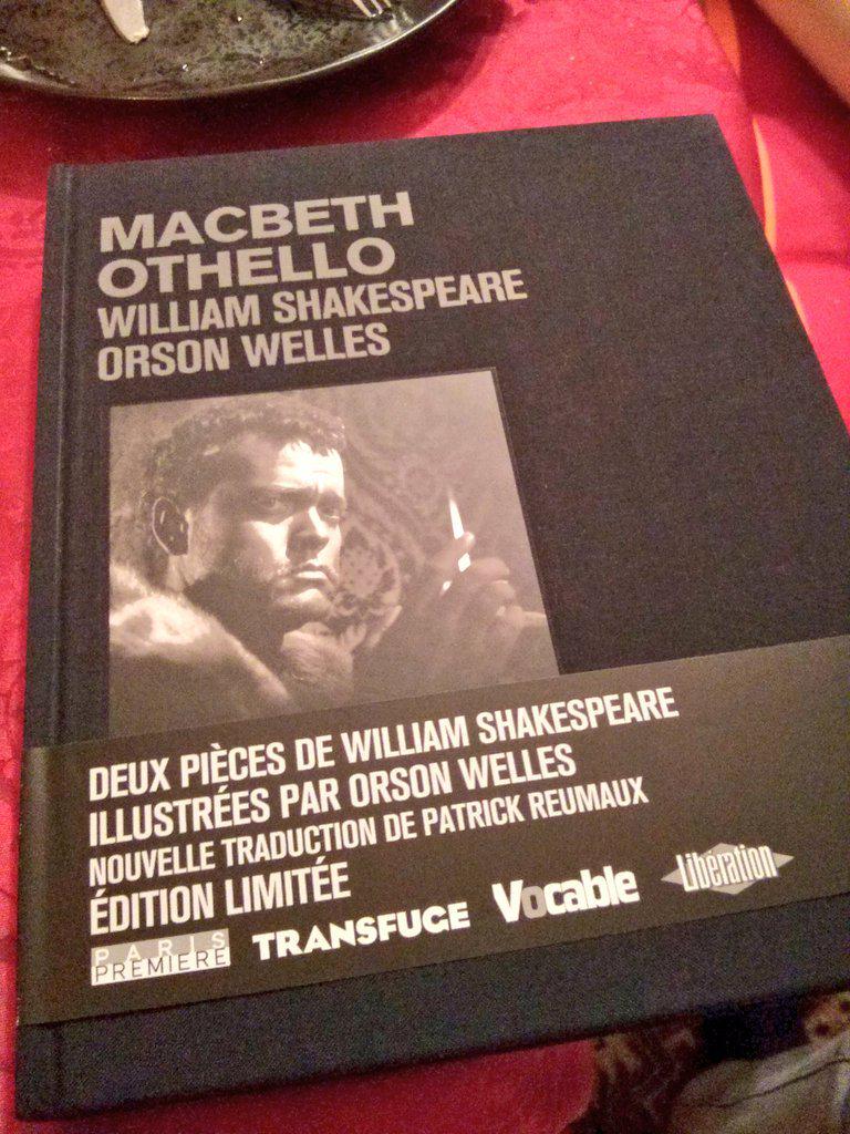 #Welles + #Shakespeare = cadeau idéal. @Carlotta_Films