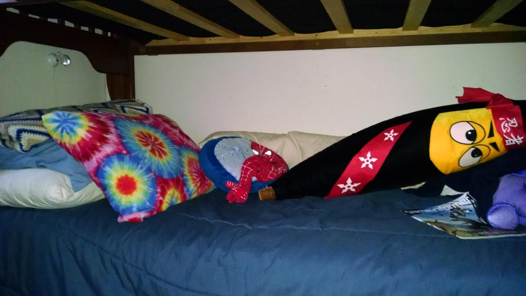 Adults share hilarious photos of their holiday guest beds