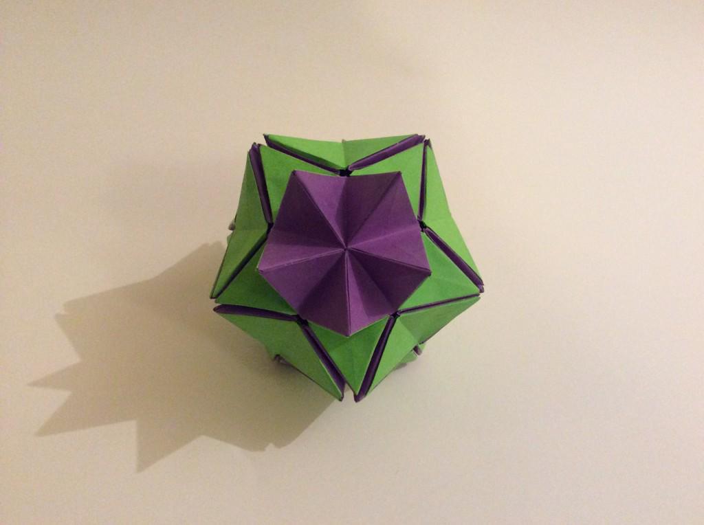 Clarissa Grandi On Twitter All Done Origami Revealed Flower