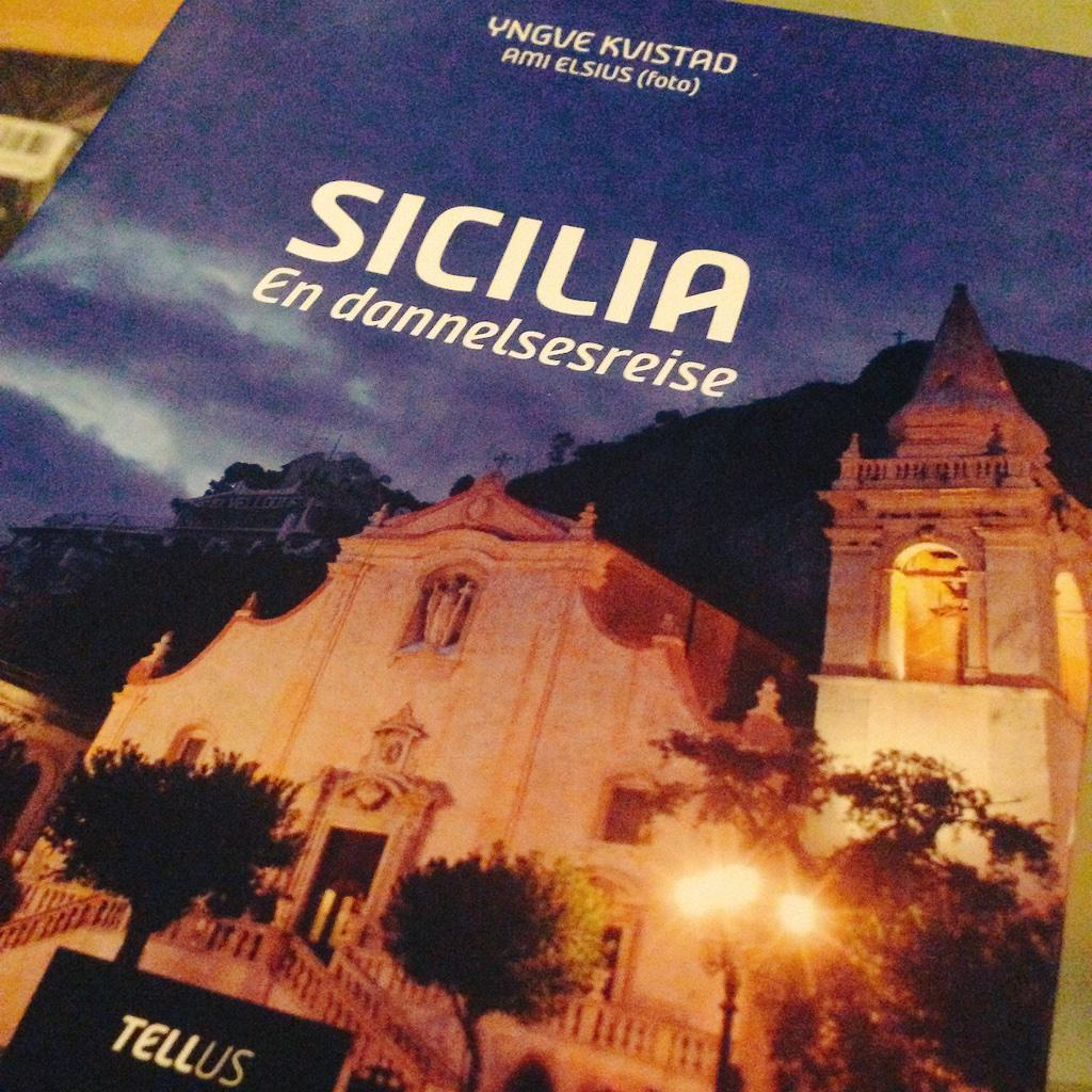 Norwegian journalist @VGyngve writes passionately about #authenticsicily in his new book