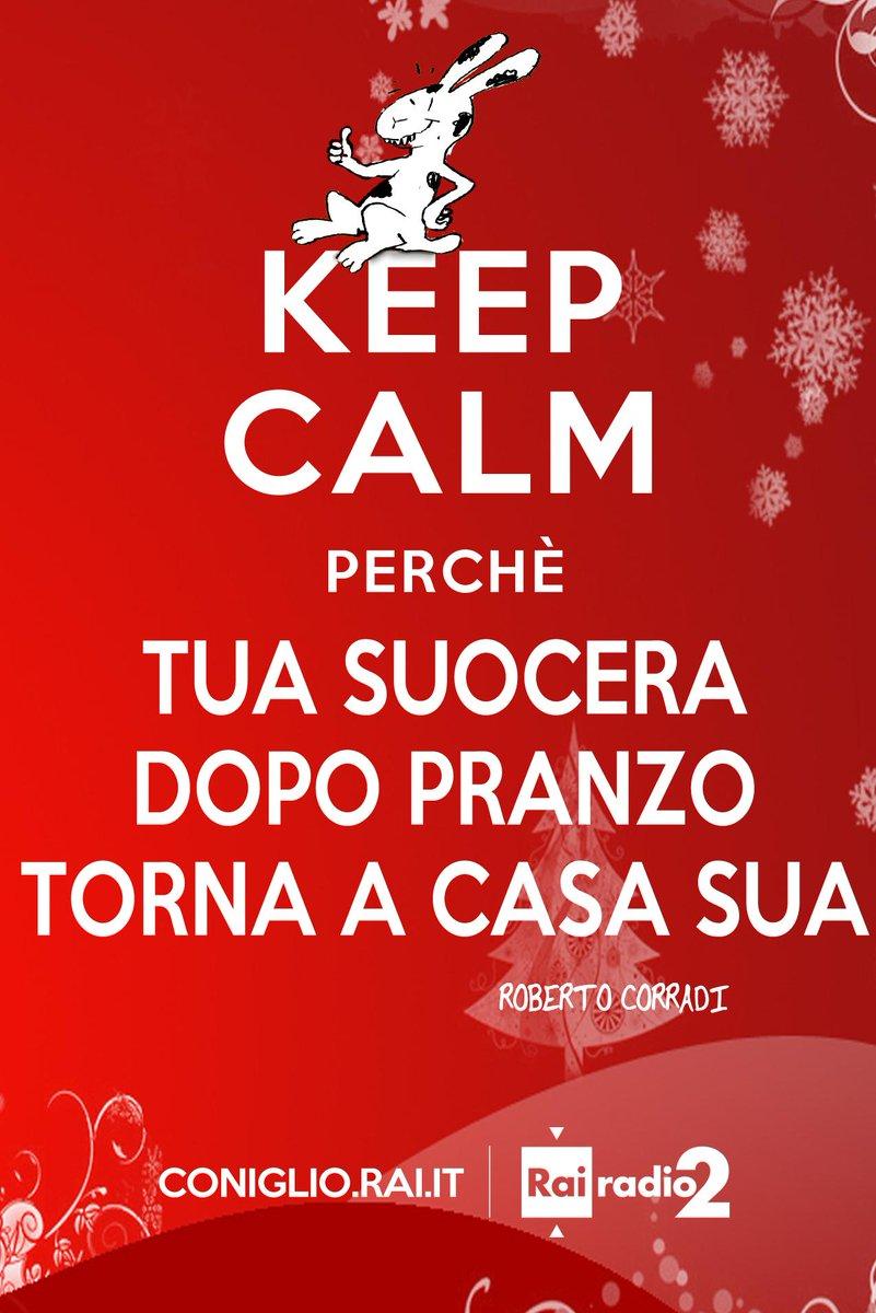 Grazie E Buon Natale.Rai Radio2 On Twitter Buon Natale A Tutti E Keep Calm