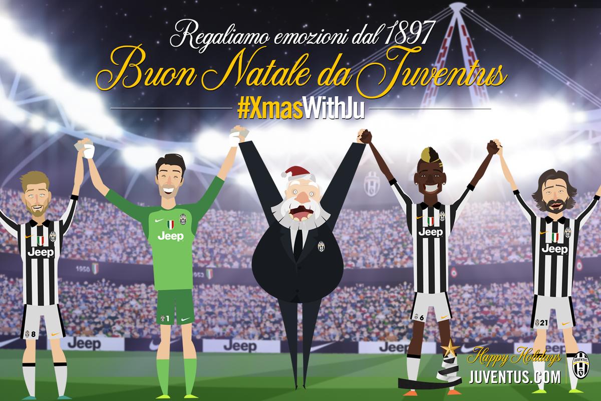 Juventus Buon Natale.Juventusfc On Twitter Un Augurio Speciale Di Buon Natale A Voi Bianconeri Di Tutto Il Mondo Xmaswithju Http T Co 33w56hwr4w
