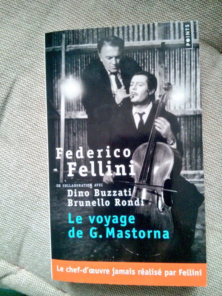 Le voyage de G. Mastorna chez @EditionsPoints, le film que Federico Fellini n'a jamais réalisé. Très intéressant.