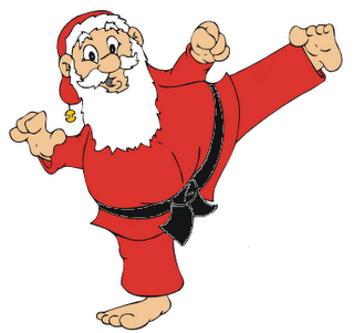 Resultado de imagen de karateca navidad