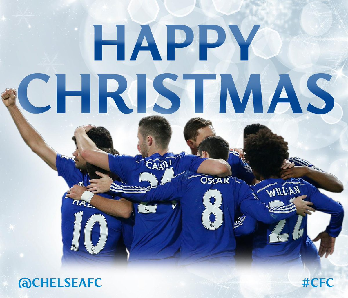 Chelsea Fc On Twitter Happy Christmas From All At Chelsea Football Club Cfc Http T Co Oouft2cshc