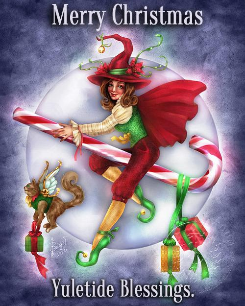 Wicca Christmas.Wicca Teachings On Twitter I Wish You A Magical Day Peace