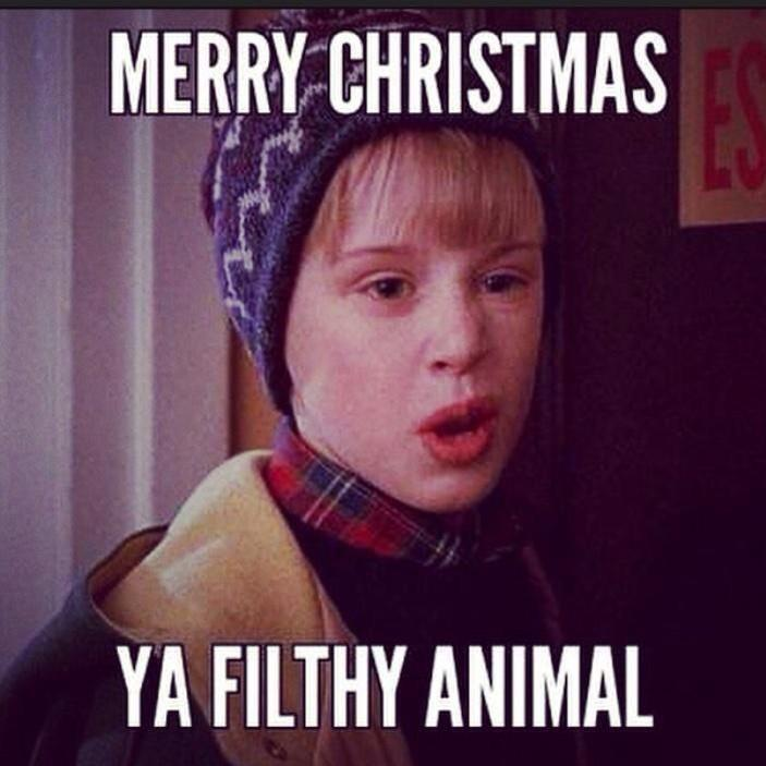 Merry Christmas You Filthy Animals.Earl Dibbles Jr On Twitter Merry Christmas Ya Filthy