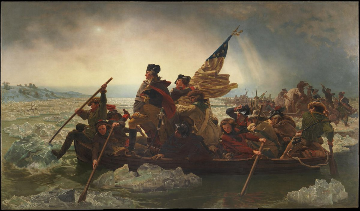 George said he would MT @GWGeorge: On this day 238 years ago, I surprised the Hessians. Tonight we shock the Shockers http://t.co/BnnF7jU4xD