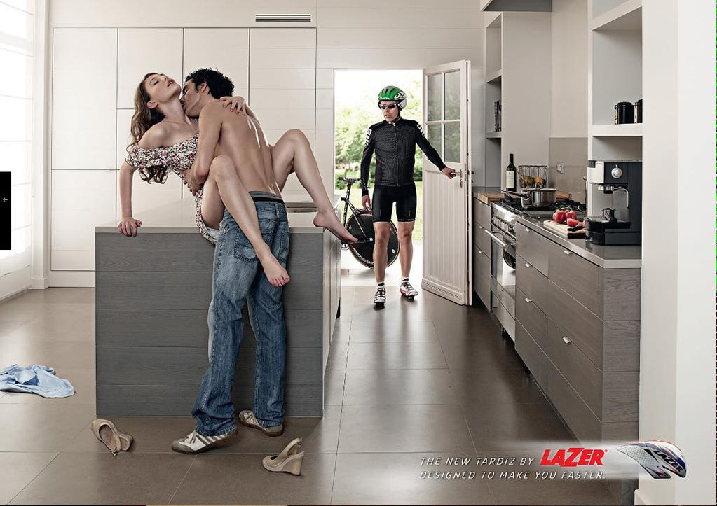 Sorry, @lazerhelmets, this ad is so wrong in so many ways. Makes me puke & never want to wear your stuff again. http://t.co/xHoxaZWGHW