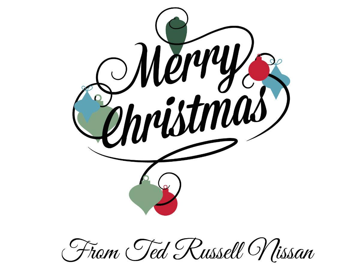 "ted russell nissan on twitter: ""merry christmas from all of us at"