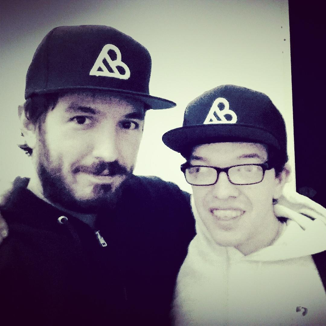 Rocking our #adambouska hats. @bouska http://t.co/2Lv7NEzLpo