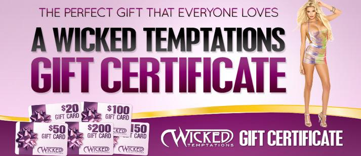 Wicked temptation coupons