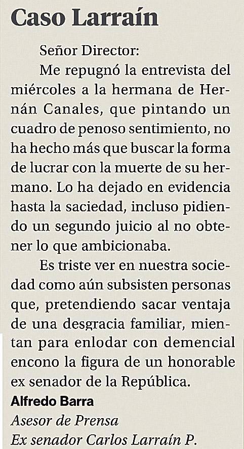 """Espero q hayan tomado desayuno, porq la cartita del """"asesor"""" de prensa de Carlos Larraín les dará náusea #martincito http://t.co/SG0J9InD2V"""
