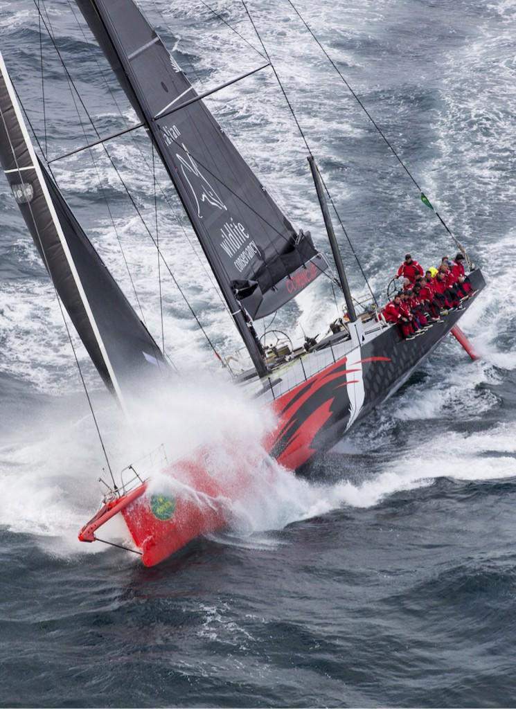 Current race leader @TeamComanche - staring down that southerly - No fear! #RSHYR http://t.co/yDWYUWp6rS