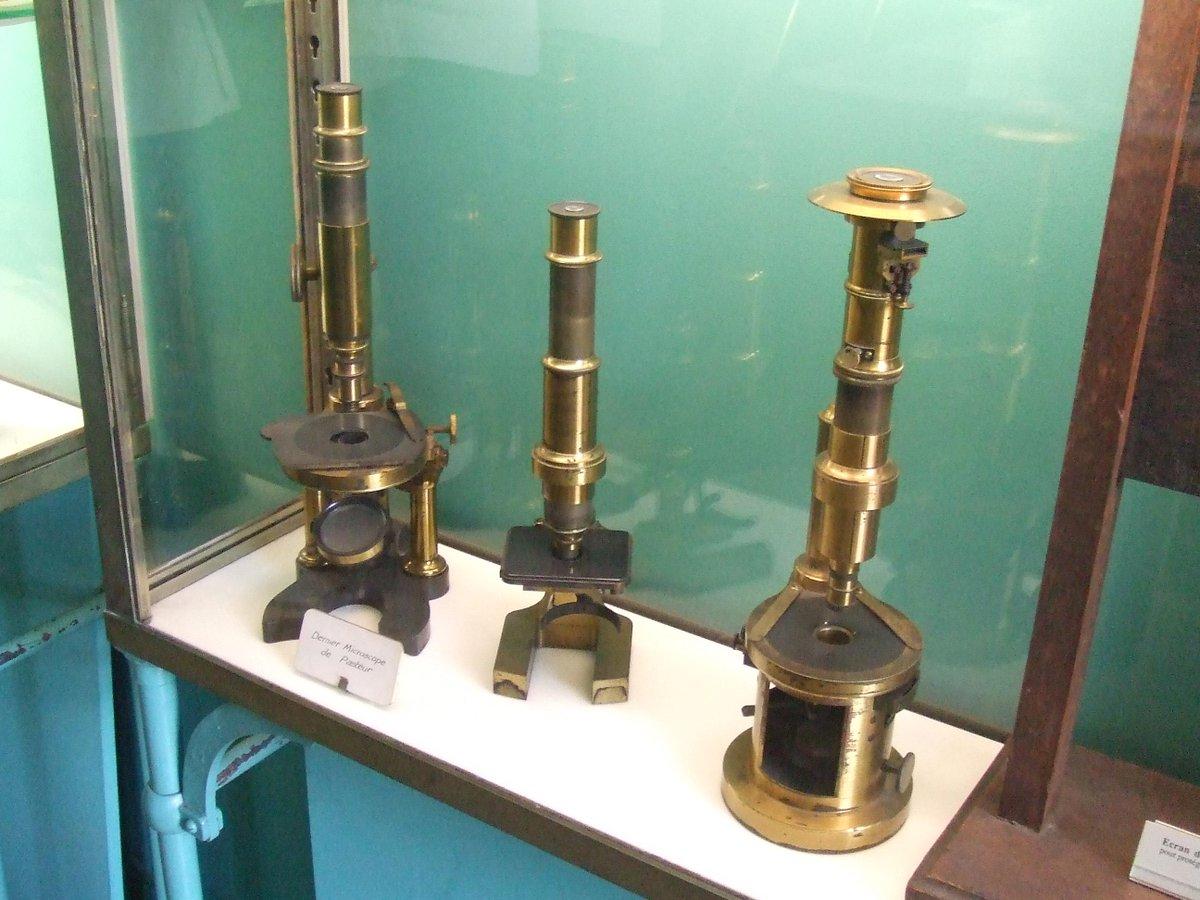 Los microscopios que usaba #Pasteur http://t.co/1p1znHl5rC