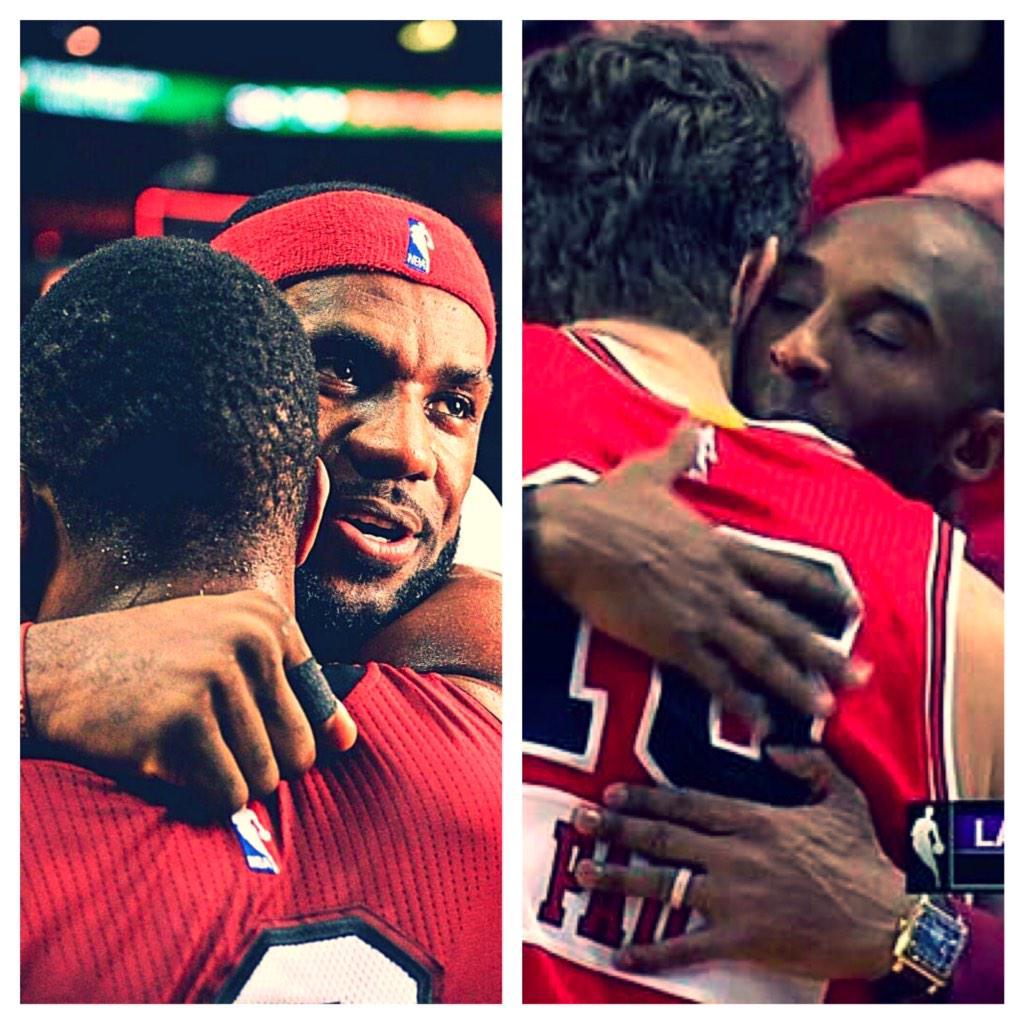#RareNBAPics More than just basketball #Brotherhood #Kobe #Lebron #Wade #Pau <br>http://pic.twitter.com/XHX8SRaeyl