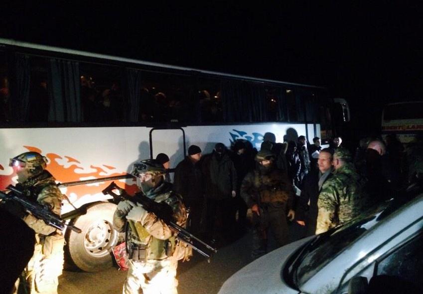 В СБУ подтвердили, что состоялся успешный обмен пленными на Донбассе - Цензор.НЕТ 1654
