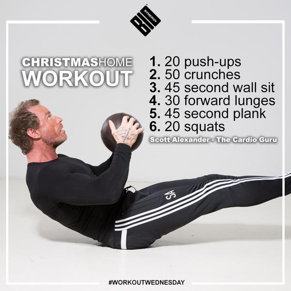 Gym closed over the Christmas period? Give this home workout a try http://t.co/sg6mHjDP1W