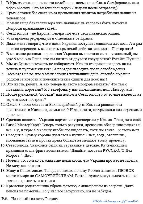 Крым остался без света из-за превышения лимитов потребления электроэнергии, - Минэнерго - Цензор.НЕТ 5275