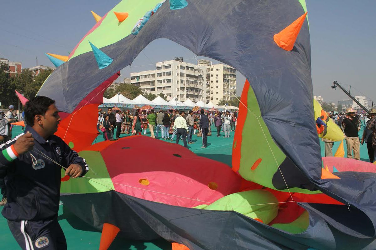 International Kite Festival to be held at Sabarmati riverfront from January 8