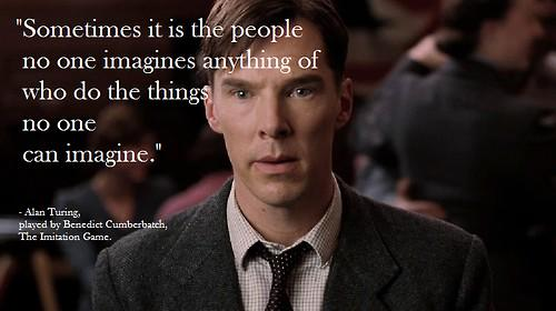 One of my Favourite quotes from The Imitation Game movie. http://t.co/5kiKOlX9Wj