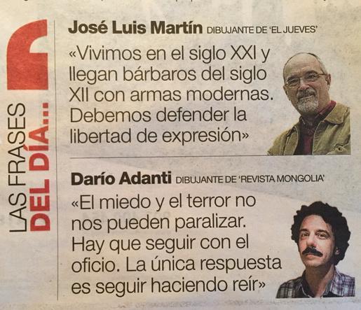 La lucha continua @darioadanti de @revistamongolia en @elperiodico. Fuerza! http://t.co/cAMXknZmMm
