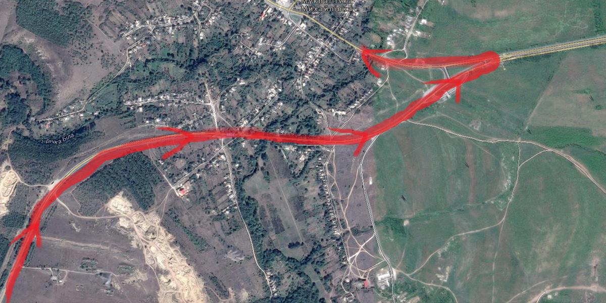 Julian Röpcke On Twitter Analysis Map Russian Invasion Forces - Alchevsk map