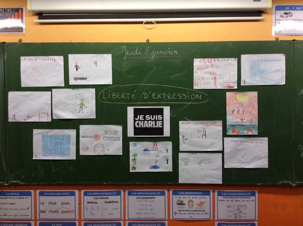 Thumbnail for #JeSuisCharlie : les élèves s'expriment