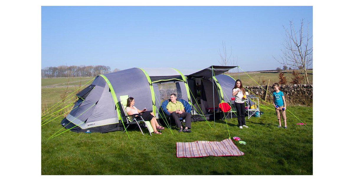 GO Outdoors on Twitter  Save £400 on Hi Gear Airgo Nimbus 8 Inflatable Tent Retail Price £1000 Sale Price £600 //t.co/yOb1YGUHPY ...  sc 1 st  Twitter & GO Outdoors on Twitter: