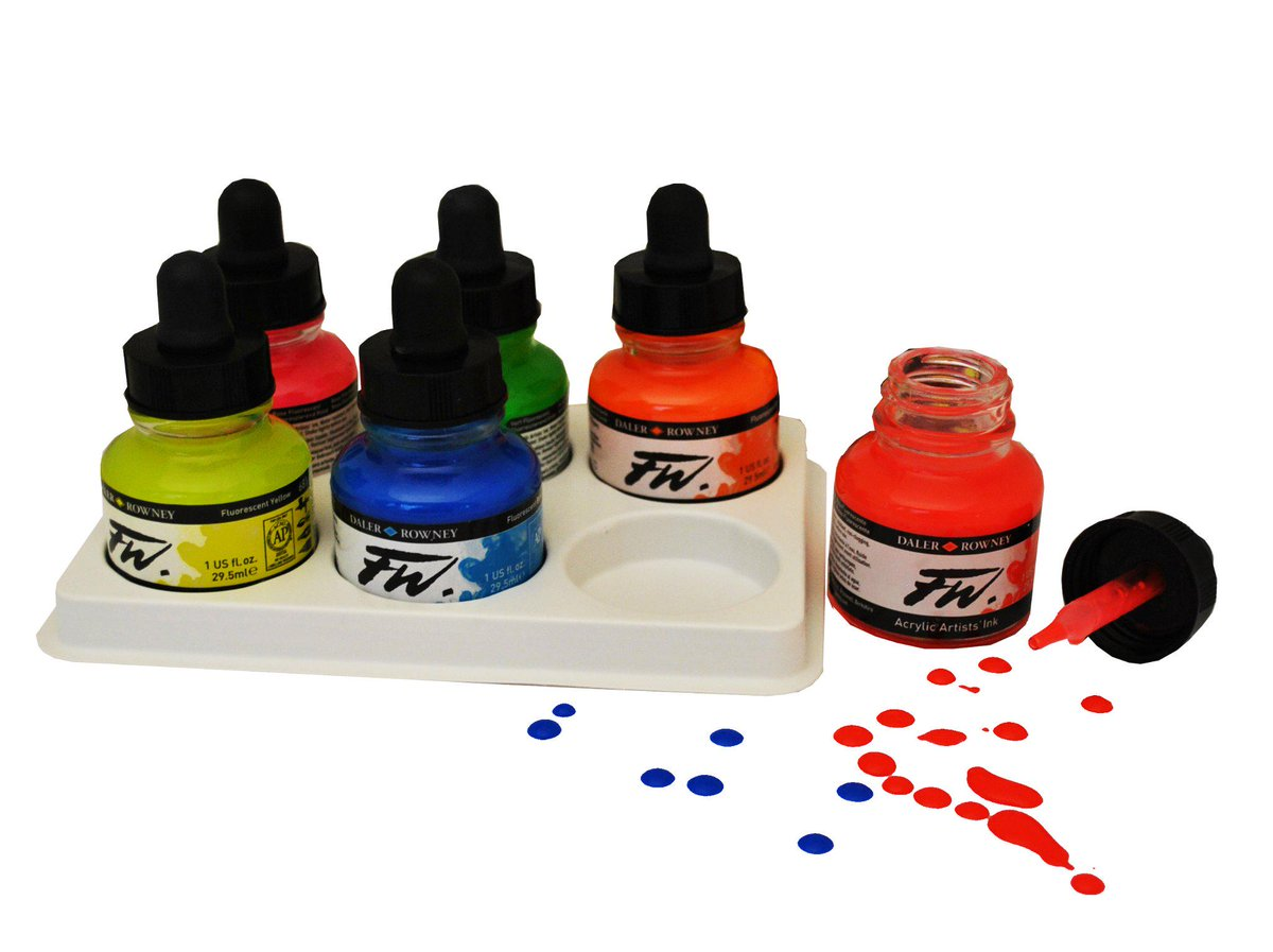 Attention tweeters! BE INSPIRED & BE CREATIVE! Send us your FW Ink Art for a chance to win our NEW FW Neon 6 set! http://t.co/Jd9mN74onw