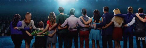 The beginning of the end. Tomorrow. 2 hour ep #glee @GLEETV