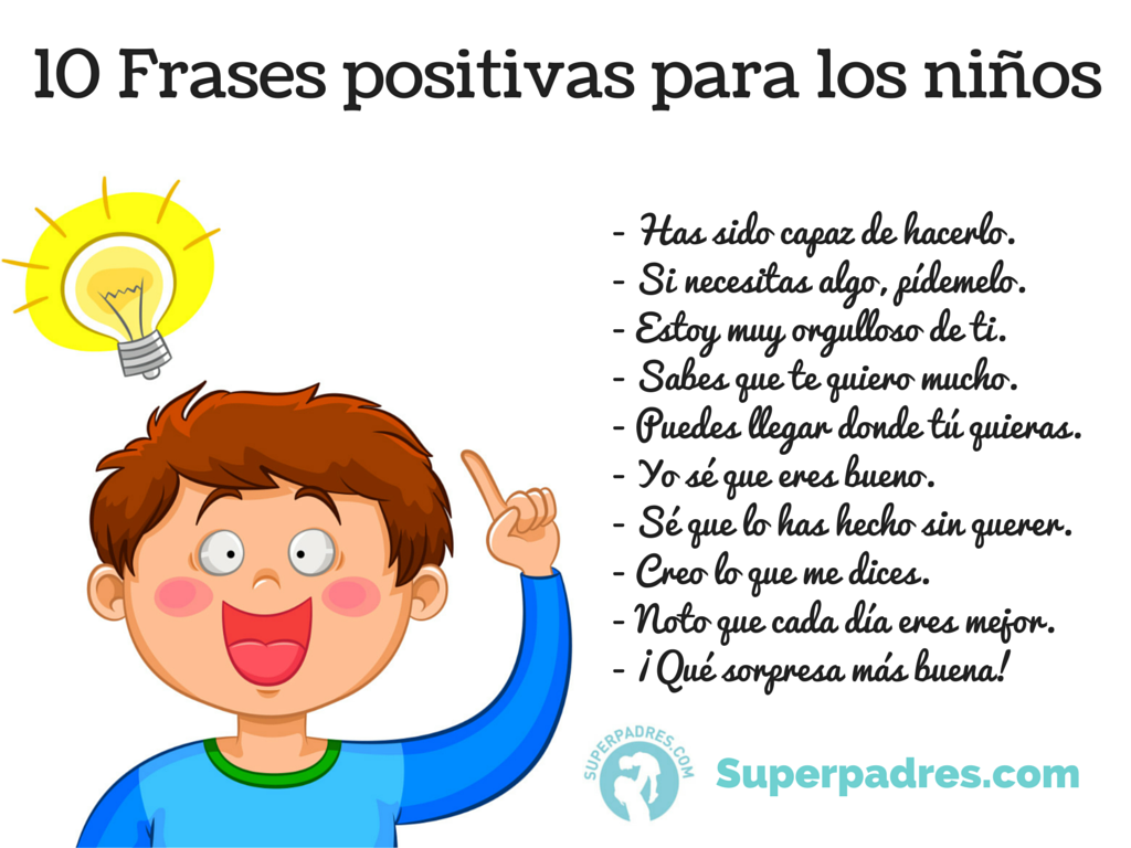 "Amor Es Frases: AulaPlaneta On Twitter: ""Diez Frases Positivas Para Educar"