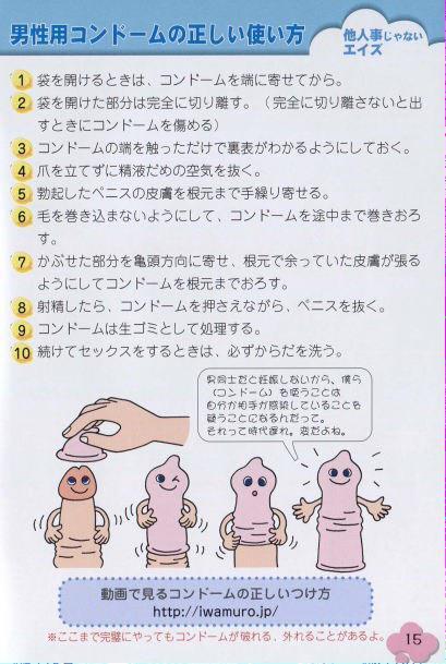 コンドーム 正しい 付け方