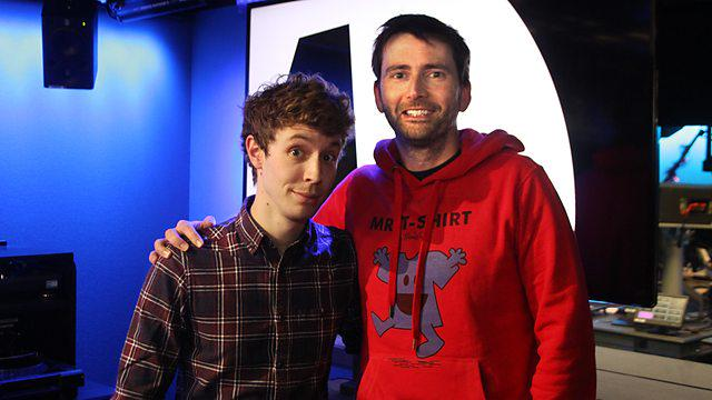 David Tennant with Matt Edmondson