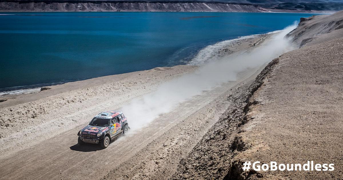 Go get 'em. #Dakar2015 #GoBoundless http://t.co/Zra9xtTaBd