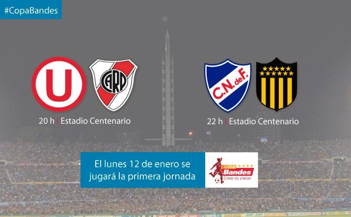 #CopaBandes I El lunes comienza el cuadrangular internacional. http://t.co/NH6GUvHyh8